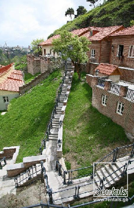 house For Rent  In Tbilisi , Sololaki; Old Tbilisi (under Narikala)