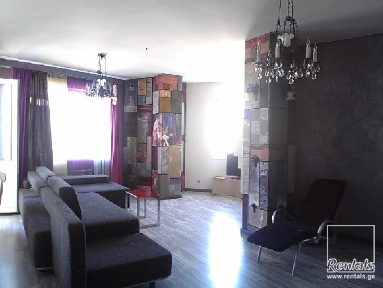 flat ( apartment ) For Rent  In Tbilisi , Saburtalo;  Merab Aleksidze str.
