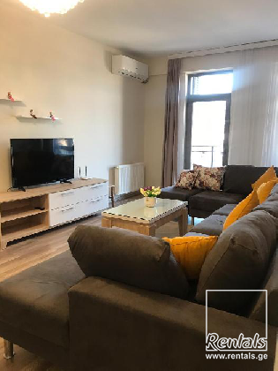 flat ( apartment ) For Rent  In Tbilisi , Saburtalo; Budapesti